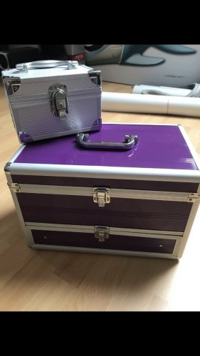 Make-up Kit silver-colored-lilac