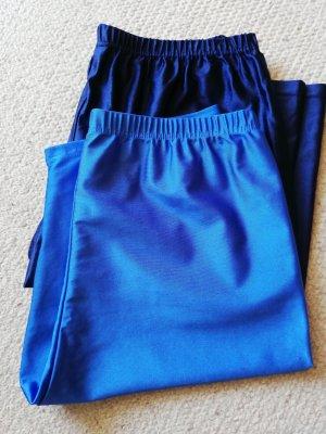 Legging neon blauw-donkerblauw
