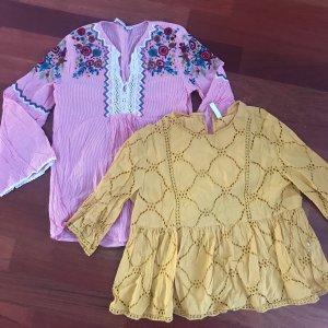 2 Blusen von Zara