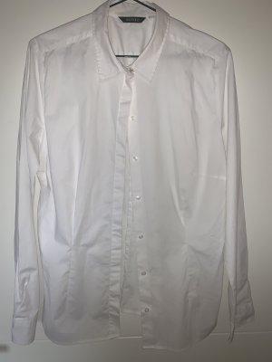 Hennes & Mauritz Cols de blouses blanc-bleu azur