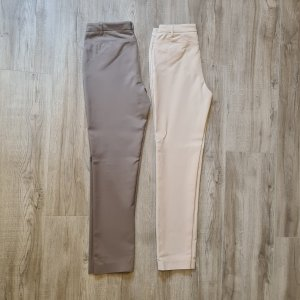 Ashley Brooke Jersey Pants light grey-beige