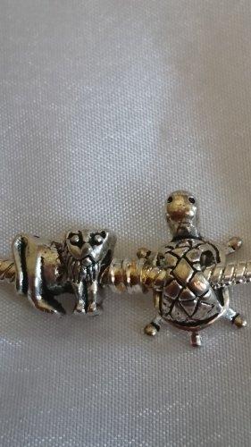 2 Charms Beads für Armband oder Kette Löwe