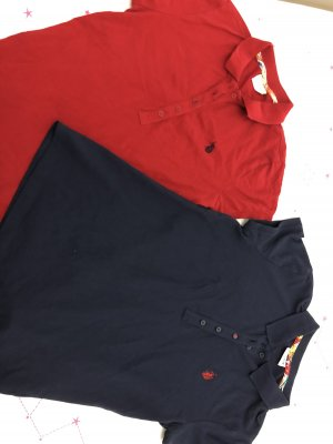 U.s. polo assn. Polo shirt rood-donkerblauw