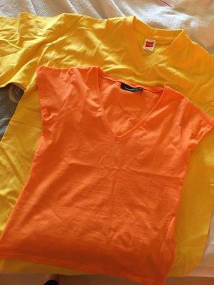 2 farbenfrohe neue Shirts