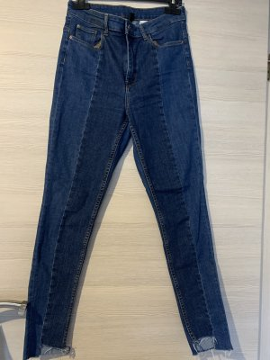 2 Farbige High waist Jeans