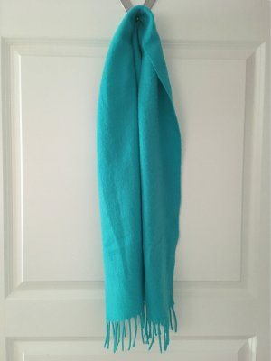 Fringed Scarf pink-turquoise