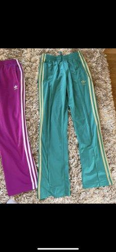 Adidas Originals pantalonera turquesa-violeta