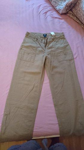 H&M Pantalone di lino multicolore