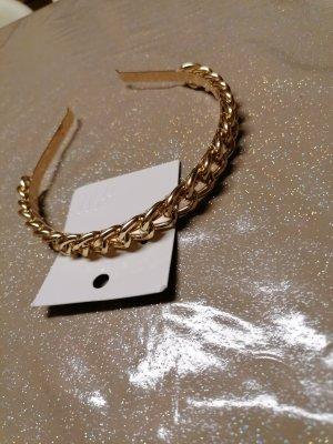 H&M Cerchietto per capelli argento-oro