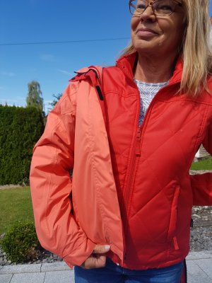 McKinley Veste double rouge-rouge clair polyester
