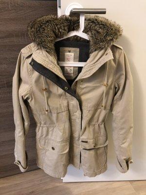 2 in 1 Parka Trenchcoat Berhska beige Gr. S