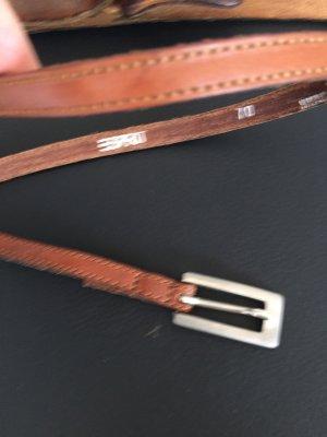 Esprit Cinturón de cuero marrón Cuero