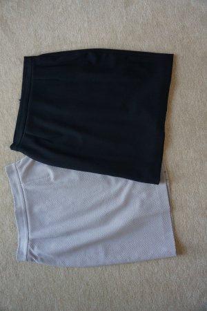 2 neue Röcke von Taifun Gr. XS 34 grau und dunkelblau