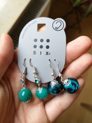 2 Paar neue, ungetragene Ohrringe Modeschmuck