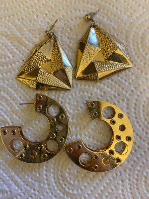 2 paar Ohrringe Vintage