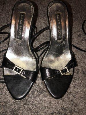 Zara Basic Sandales à lanière noir