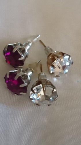 2 Paar tolle Ohrringe Ohrstecker