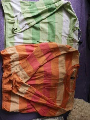 Colors of the world Maglione lavorato a maglia multicolore Cotone