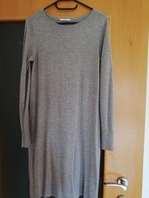Esprit Abito maglione antracite-marrone chiaro Cotone