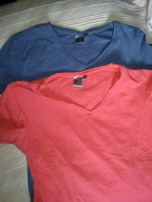 2 T-Shirts - Gr.M (40/42) von Blue motion- Baumwolle/elasthane