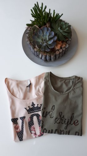 2 T-Shirts im Set Gr. S 36 und XS 34