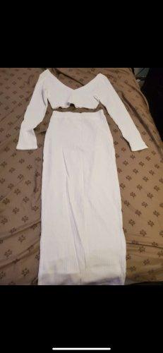 100% Fashion Ensemble tissé blanc