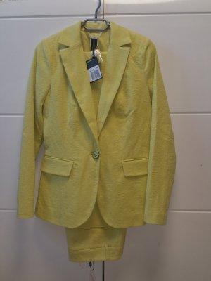Best Connections Trouser Suit gold-colored cotton