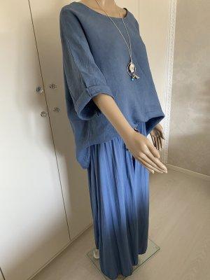 new collection Ensemble en jersey bleu azur