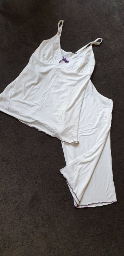 Pyjama natural white cotton