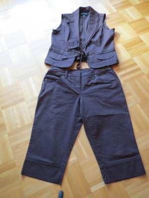 Authentic Trouser Suit brown