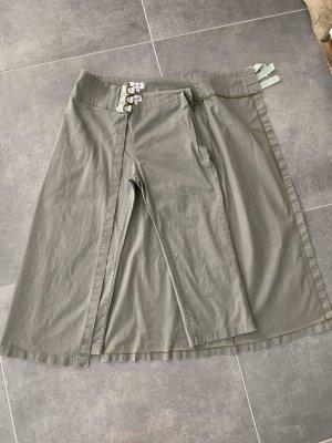 Spodnie Capri khaki
