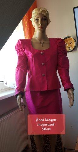 Ladies' Suit neon pink