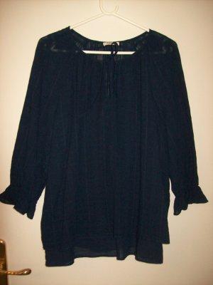 2-teilige Bluse nachtblau von Orsay