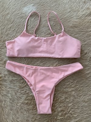 2 Teiliger Bikini rosa, M
