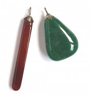 Pendant russet-forest green