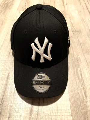 New Era Baseball Cap white-black