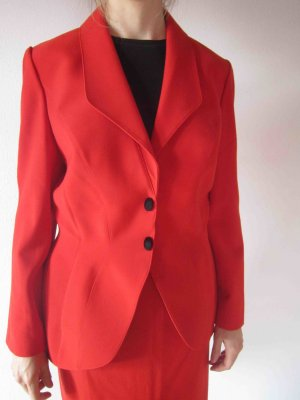 Design Kostüm Thierry Mugler, rot - Luxus Business Look