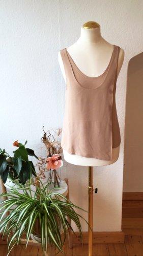 Balenciaga Silk Top nude silk