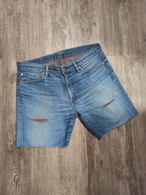 Levi's Pantaloncino di jeans azzurro-blu