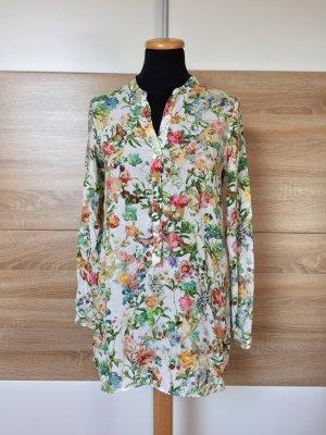 20052305 Bunte Blumen Frühling Bluse von Zara, Gr. XS (NEUw.)
