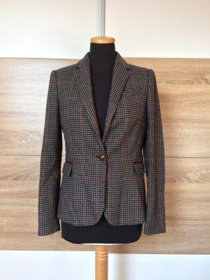 20080910 Karierter vintage Wolle Blazer von Zara, Gr. M (NEU)