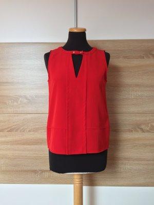 20080915 Rote Basic Bluse, Shirt von Zara, Gr. S (NEU)