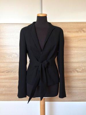 20080917 Schwarzer Blazer, leichte Jacke von Zara, Gr. 38 (NEUw.)