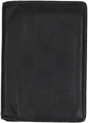 Louis Vuitton Custodie portacarte nero Pelle