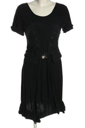 2026 Mini-jurk zwart casual uitstraling