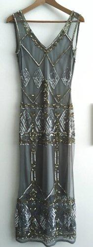 Miss Selfridge Robe à paillettes multicolore