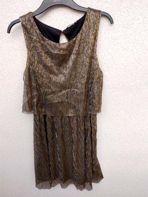 20s style goldenes Kleid von Only