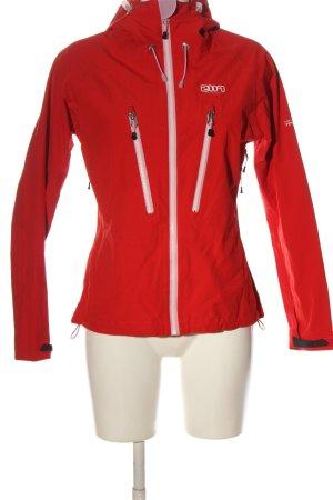 2117 of Sweden Giacca con cappuccio rosso stile casual