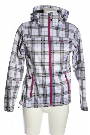 2117 of Sweden Softshell Jacket check pattern casual look