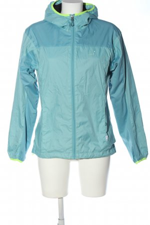 2117 of Sweden Sportjacke blau-blassgelb Casual-Look